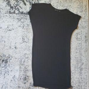 Athelta asymmetrical midi t-shirt dress